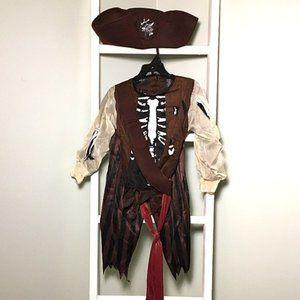 Hallow's Eve Pirate Skeleton Halloween Costume
